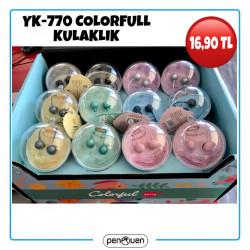 YK-770 COLORFULL KULAKLIK