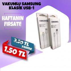 VAKUMLU SAMSUNG KLASİK USB-1