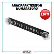 ARAÇ PARK TELEFON NUMARATÖRÜ