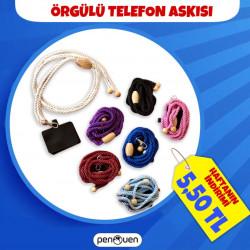 ÖRGÜLÜ TELEFON ASKISI