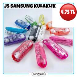 J5 SAMSUNG KULAKLIK