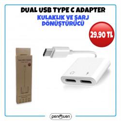 DUAL USB TYPE C ADAPTER