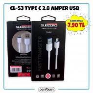 CL-53 TYPE C 2.8 AMPER USB