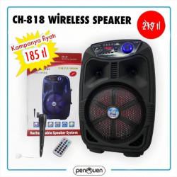 CH-818 WİRELESS SPEAKER