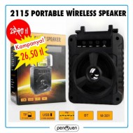 2115 PORTABLE WİRELESS SPEAKER