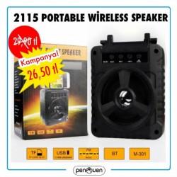 2115 PORTABLE WİRELESS SPEAKER