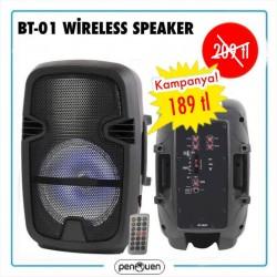 BT-01 WİRELESS SPEAKER