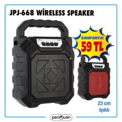 JPJ-668 WİRELESS SPEAKER