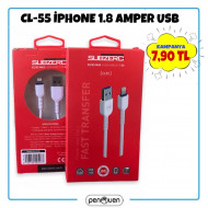 CL-55 İPHONE X 1.8 AMPER USB