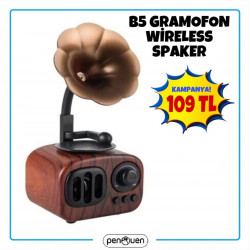 B5 GRAMOFON WİRELESS SPEAKER