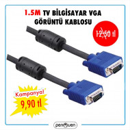 1.5M TV BİLGİSAYAR VGA GÖRÜNTÜ KABLOSU