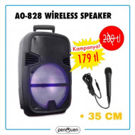 AO-828 WİRELESS SPEAKER