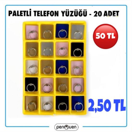 PALETLİ TELEFON YÜZÜĞÜ