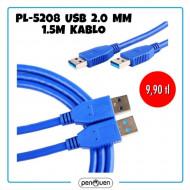 PL-5208 USB 2.0MM 1.5M KABLO