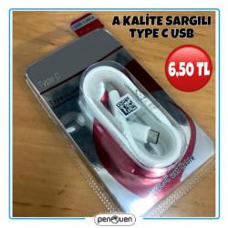 A KALİTE SARGILI TYPE C USB