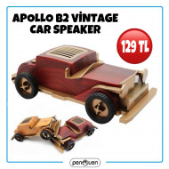 APOLLO B2 VİNTAGE CAR SPEAKER