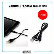 VAKUMLU 2.5MM TABLET USB