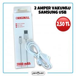 2 AMPER VAKUMLU SAMSUNG USB